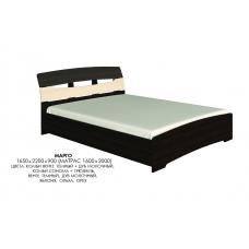 Кровать двуспальная Эверест Марго