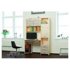 Компьютерный стол с пеналом Эверест Гимназист-2