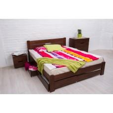 Кровать деревянная Олимп Айрис (с ящиками)