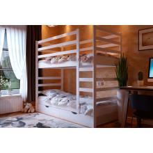 Кровать деревянная ЧДК Эля двухъярусная