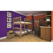 Кровать детская деревянная ТИС Трансформер 2, дуб