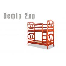 Кровать деревянная Sovinion Зефир двухъярусная