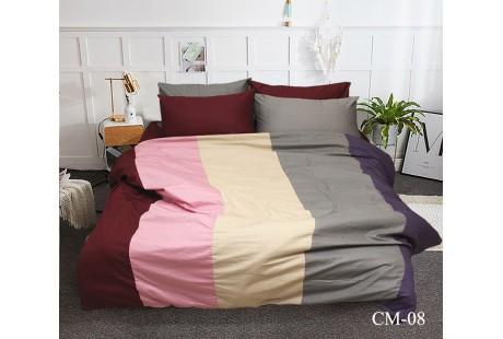 Комплект постельного белья TAG Tekstil Color mix CM-08