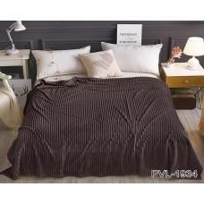 Плед TAG Tekstil велсофт однотонный