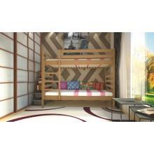 Кровать детская деревянная ТИС Трансформер 1, дуб