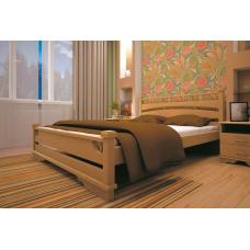 Кровать деревянная ТИС Атлант 1, бук