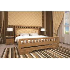 Кровать деревянная ТИС Атлант 11, дуб