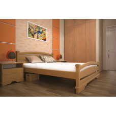 Кровать деревянная ТИС Атлант 2, дуб