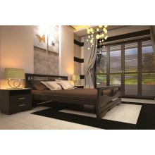 Кровать деревянная ТИС Атлант 3, бук