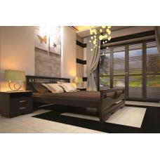 Кровать деревянная ТИС Атлант 3, дуб
