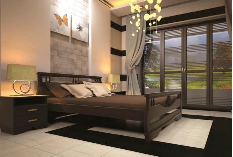 Кровать деревянная ТИС Атлант 3, сосна