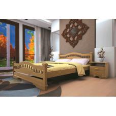 Кровать деревянная ТИС Атлант 7, дуб