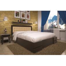 Кровать деревянная ТИС Кармен (ПМ), дуб