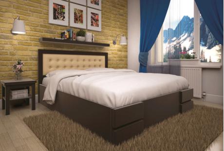 Кровать деревянная ТИС Кармен (ПМ), бук