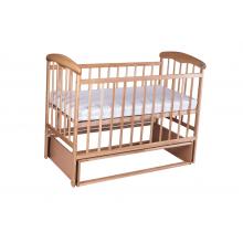 Кровать Наталка ЯСМ с маятником Ясень светлая