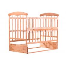 Кровать Наталка ЯСМО с откидной боковушкой и маятником Ясень светлая