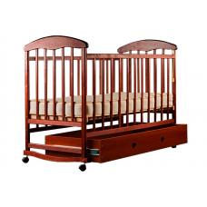 Кровать Наталка ОТЯ с ящиком Ольха темная