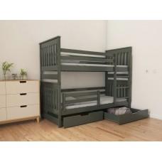 Кровать деревянная Луна Адель Duo, массив