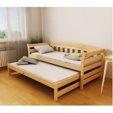 Кровать деревянная Луна Тедди Дуо, массив