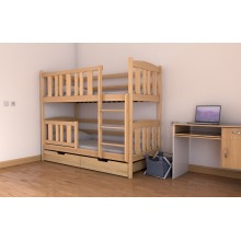 Кровать деревянная Луна Челси, массив