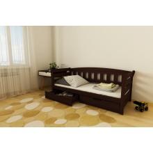 Кровать деревянная Луна Тедди , массив