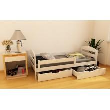 Кровать деревянная Луна Винни, массив