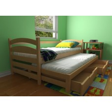 Кровать деревянная Луна Бонни, массив