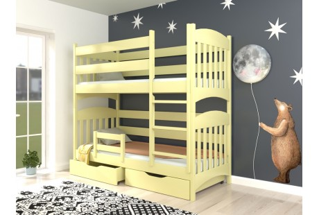 Кровать деревянная Луна Мелиса, массив