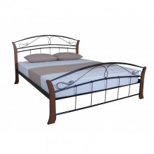 Кровать металлическая Melbi Селена Вуд