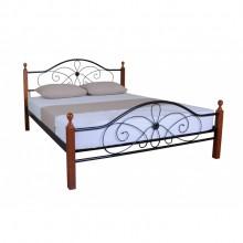 Кровать металлическая Melbi Фелиция Вуд