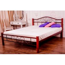 Кровать металлическая Melbi Лара Люкс Вуд