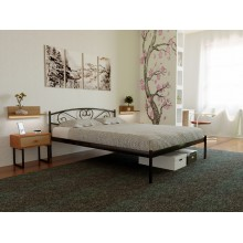Кровать металлическая МЕТАКАМ MILANA-1