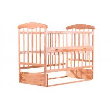 Кровать Наталка ОСМО с откидной боковушкой и маятником Ольха светлая