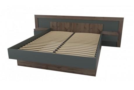 Кровать Неман Вирджиния деревянный вклад