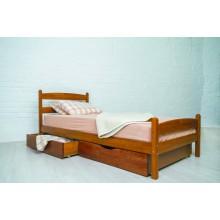 Кровать деревянная Олимп Лика (с ящиками)