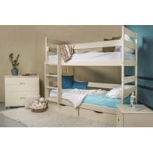 Кровать деревянная Олимп Ясна (с ящиками)