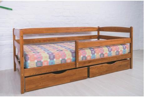 Кровать деревянная Олимп Марио люкс (с ящиками)