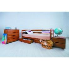 Кровать деревянная Олимп Марио (с ящиками)