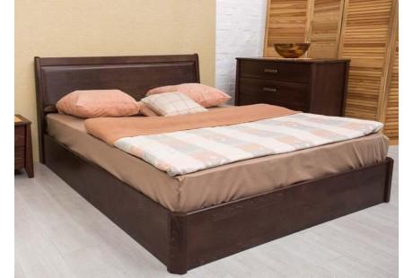 Кровать деревянная Олимп Сити Премиум (с филенкой, с подъемной рамой)