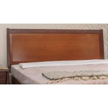 Кровать деревянная Олимп Сити Премиум с мягкой спинкой