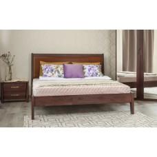 Кровать деревянная Олимп Сити Премиум (с филенкой, без изножья)