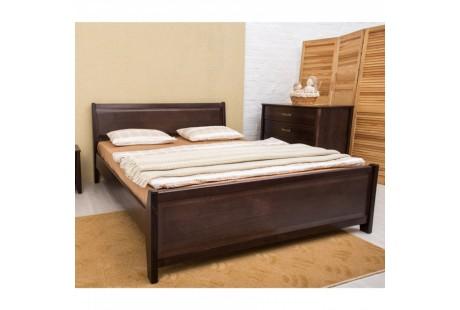 Кровать деревянная Олимп Сити Премиум (с филенкой)