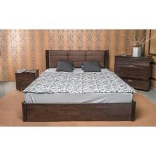 Кровать деревянная Олимп Катарина с ящиками