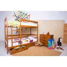 Кровать деревянная Олимп Амели (с ящиками)