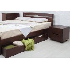 Кровать деревянная Олимп Нова (с ящиками)