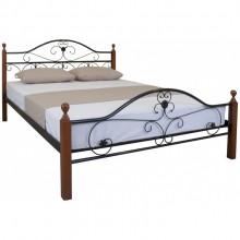 Кровать металлическая Melbi Патриция Вуд