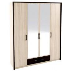 Спальня Сокме Скарлет шкаф 4Д