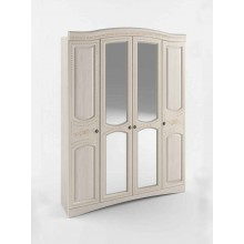 Спальня Сокме Венера Люкс шкаф 4Д