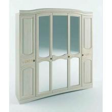 Спальня Сокме Венера Люкс шкаф 5Д