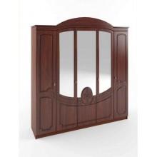 Спальня Сокме Каролина шкаф 5Д